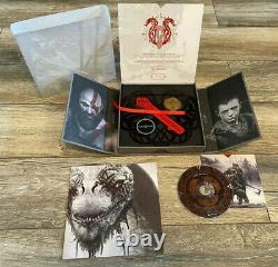 God Of War Playstation 4 Ps4 Presse Kit New Limited Et Très Rare