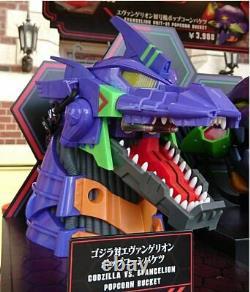 Godzilla Vs Evangelion Popcorn Bucket Limited Très Rare Universal Studios Japon