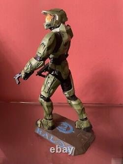 Halo 2 -maître Chef Statue Microsoft Bungie Ed-oxmox Limitée. Très Rare