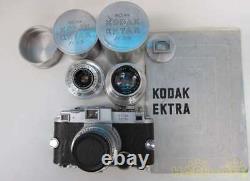 Kodak Ektra Télémètre Caméra Withlens Set 2500 Limited Très Rare