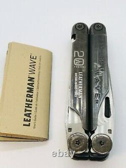 Leatherman Wave 20th Anniversary Limited Edition 2002 Very Rare + Box