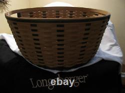 Longaberger Tour With Me Basket Très Rare 2011 Nouvelle Édition Limitée
