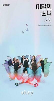 Loona ×× Limited Mini Album A Ver CD Livret Avec Carte Photo & Poster Very Rare
