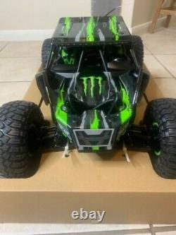 Losi Rock Rey Très Rare Monster Energy Limited Edition
