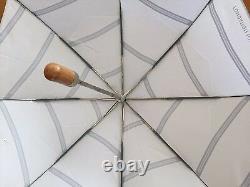 Louis Vuitton Foundation Art Museum Limited Folding Umbrella Gray Très Rare F/s