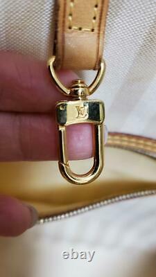 Louis Vuitton Neverfull MM Rayure 2011 Sac À Tarte Limité Très Rare Ladies Auth