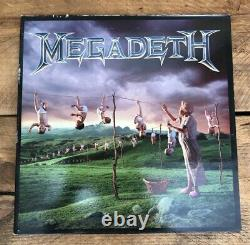 Megadeth Youthanasia Very Rare Limited Blue Vinyl Uk Release /1000 1994