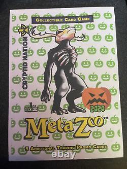 Métazoo Sealed 1st Ed Halloween 2020 Promo Pack Black Boarder Very Rare