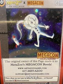 Métazoo X Megacon Orlando Promo! 539/1000 Très Rare Dans La Main. Extrêmement Limitée