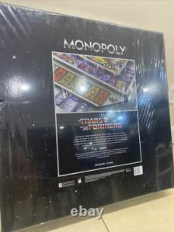 Monopoly Transformers Deluxe Collectors Edition -edition Limitée Très Rare
