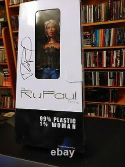 Nib Rupaul Doll Jason Wu Limited Edition Autographié Très Rare! Ru-mix Blonde