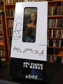 Nib Rupaul Doll Jason Wu Limited Edition Autographié Très Rare! Ru-mix Brunette