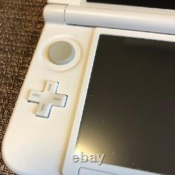 Nintendo 3ds XL Limited Modèle Mario White Console Utilisée Article Très Rare 0039