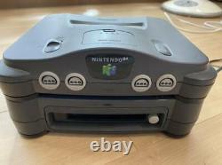 Nintendo 64 + 64dd Console Set Nus-010 Japan Limited Model Très Rare