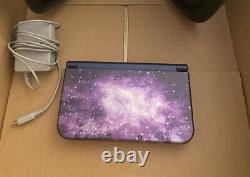 Nouveau Système De Console Nintendo 3ds XL Galaxy Edition Limitée Très Rare Ips & Mint