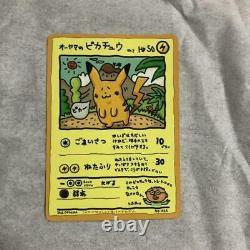 Ooyama Est Pikachu Non. 25 Promo Limité Série Très Rare De Vente Nintendo Pokemon
