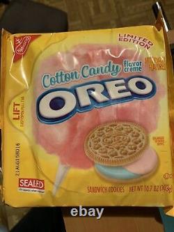 Oreo Cotton Candy Édition Limitée! Très Rare