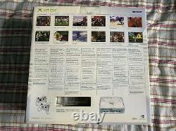 Original Xbox Crystal Pack Edition Limitée 2004 Très Rare Collectible