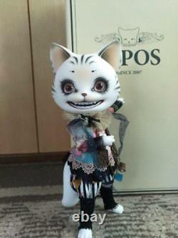 Pipos Cheshire Cat Doll Figurine Alice Au Pays Des Merveilles Figure Limitée Très Rare