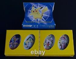 Pokemon Center 10e Anniversaire Limited Playing Cards 4set Très Rare Carte De Poker
