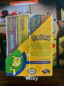 Pokemon Wotc Base Set II Preconstructed Theme Deck Box X 1 Très Rare