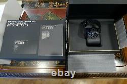 Porsche Indicateur De Conception Chronographe P6910 Pvd 49mm Limited 50 Très Rare 165 000 $