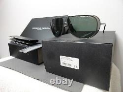 Porsche Limited Seulement700 Paires Mod P8591 Titane & Lentille Verte, Très Rare! Nouveau