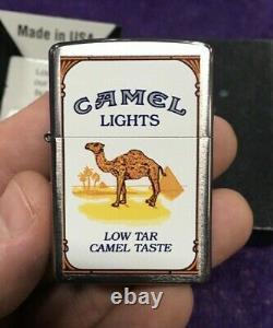 Rare Seeled Cz817 Lumières De Chameau Joker Brossé Chrome Zippo L 09 Very Limited