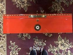 Red Perdomo 20ème Anniversaire Édition Limitée Très Rare Humidor Nouveau