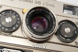Rollei 35 Platine Classic 40 F / 2,8 Limitée Très Rare Au Japon De Tokyo # J06003