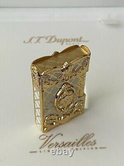 S. T. Dupont Gatsby 18k Briquet Versailles Limited Edition -nouveau Dans La Boîte Très Rare