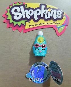 Shopkins Saison Sunny-screen 1 Limited Edition Tres Rare