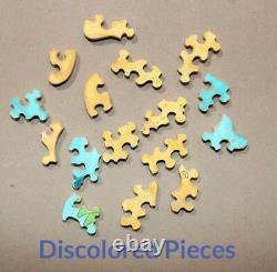 Stave Puzzle Treasure Island Limited Edition Très Rare. Lire La Description