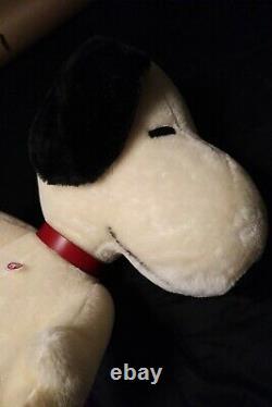 Steiff Snoopy 31 Tall Jointed Édition Limitée Très Rare Peanuts Snoopy Steiff