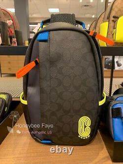 T.n.-o. Coach Edge Pack In Signature Canvas Très Rare Limitée Edition