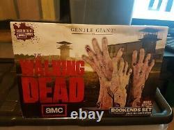 The Walking Dead Bookends Par Gentle Giant. Édition Limitée De Collection Très Rare