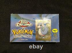 Topps Chrome Pokemon Série 2 Booster Pack 30 Factory Sealed Packs Very Rare