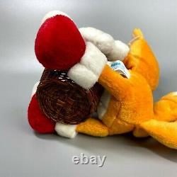 Très Rare 1996 Sonic The Hedgehog Basket Tails Poupée En Peluche Sega 7 Limitée