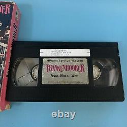 Très Rare Frankenhooker 1975 Vhs Limited Ed Talking Box Dolby Stereo