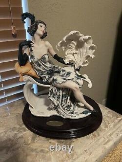 Très Rare Giuseppe Armani Figurine Elegance 1180e Edition Limitée 89/250