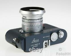 Très Rare Leica Edition Limitée Leica M9-p Gris En Finition Bleue Militaire