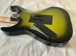 Très Rare! Ltd Par Esp Kh-se Vert Burst Kirk Hammett 400 Guitare Limitée 24f