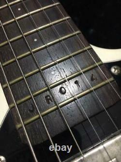Très Rare! Mosrite Johnny Ramones Limited Modèle Guitare Blanche Avechardcase