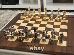 Très Rare Snap-on Tools Edition Limitée Ensemble D'échecs Drueke Avec Boîte À Outils