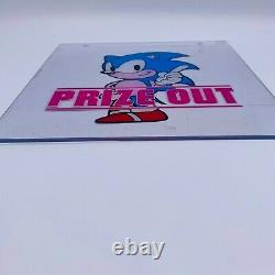 Très Raresega Sonic The Hedgehog Game Ufo Prize Door Piece Limited Japon