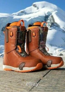 Very Limited Rare Burton X Mine77 Full Grain Leather Step On Boots Taille 11