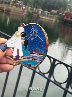 Very Rare Disney Aladdin Et Jasmine Genie Fantasy Pin Limited Edition Of 30