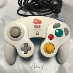 Very Rare Game Cube Club Nintendo Gc Limited Contrôleur De Couleur D'origine F/s