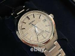 Very Rare Grand Seiko Spring Drive Limited Edition Tatami Watch Sbga111 B&p