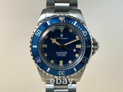 Very Rare New Steinhart Ocean 39 Marine Blue Limited Edition Watch In Full Set